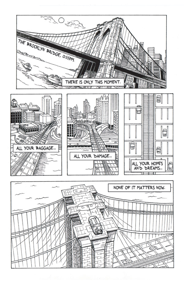 Pastrami for the Dead, Page 1